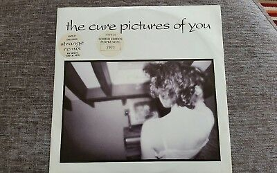 The Cure Pictures of you LP Limited edition 2923 purple vinyl