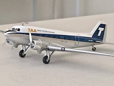 1/200 TAA Australia Douglas DC-3 Skytrain VH-SBA in Die-cast ✅Sold Out Very Rare