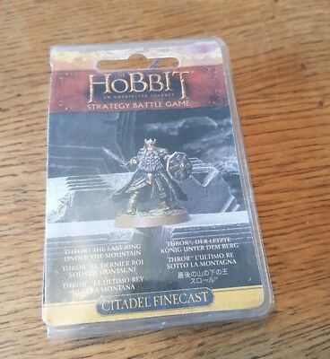 Games Workshop The Hobbit Thror The Last King Under the Mountain
