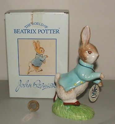 BESWICK Beatrix Potter Peter Rabbit Figurine 100 yrs 1893-1993 MIB