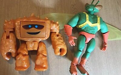 "Large Toy Story 3 Figure Twitch (13"")  and Chunk (9"")"