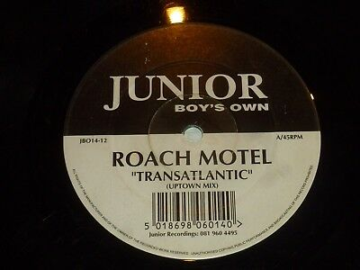 "ROACH MOTEL - Transatlantic - UK 2-track 12"" Vinyl Single"