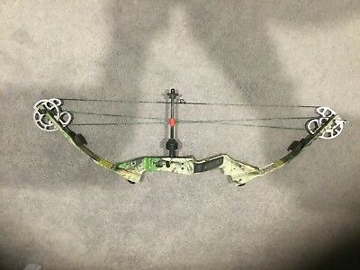 Darton Vapor, Camo, Left Hand Compound Bow, 50-60lb draw weight