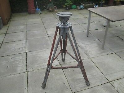 Vintage Alec Tiranti Sculptor's Modelling Stand on Wheels, Adjustable & Tilting