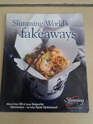 Slimming World Fake Aways with 1st cert and sp bookmark
