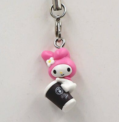 Sanrio My Melody Coffee and Sushi Mini Figure Strap mym0104 My Melody Coffee