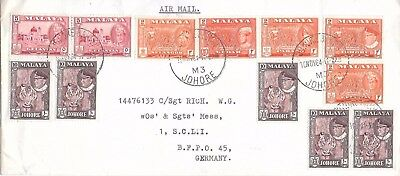Malaysian States Cover. 10/11/1964.