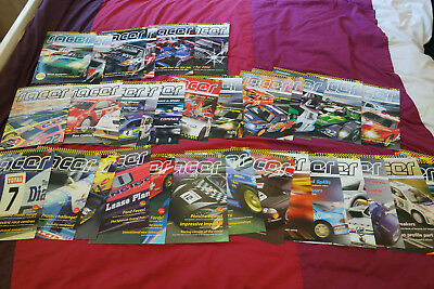 Official Scalextric Racer Magazine Issues 7-38 (Scalextric Club)