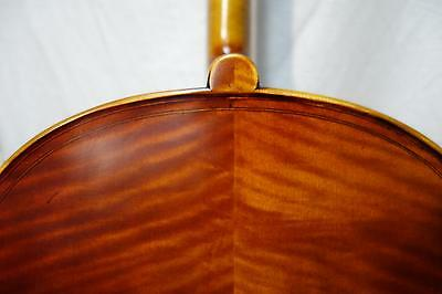 4/4 Amazing Cello by Paul Davies Double Purfling Amazing Tone! Watch Video - Bow