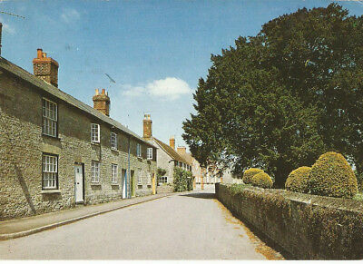 Used Postcard Of Church Street, Mere, Wiltshire
