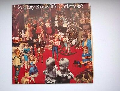 """Band Aid - Do They Know Its Christmas - 12"""" Inch Vinyl LP Record"""