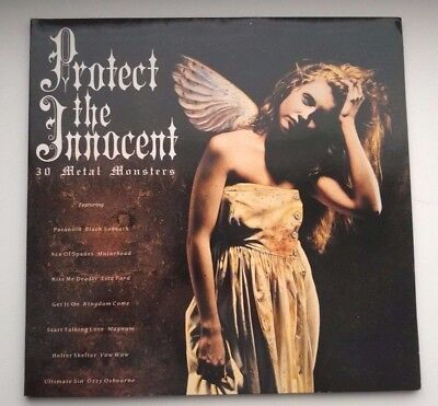 Various Artists ‎- Protect The Innocent: 30 Metal Monsters LP