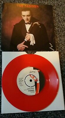 Damned  Very Rare Love Song Red Vinyl Vanian Pic Sleeve !!!