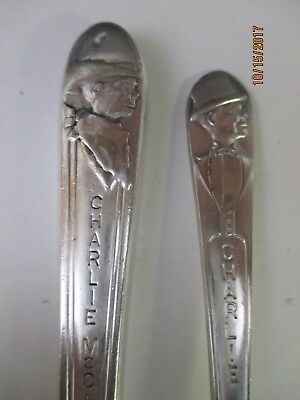 CHARLIE McCARTHY CHARACTER KNIFE AND FORK