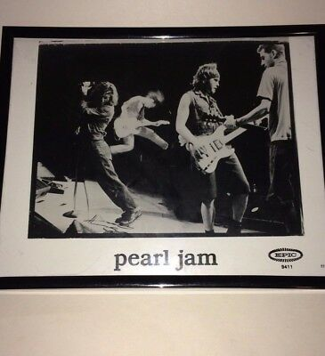 Pearl Jam Framed Publicity Photo