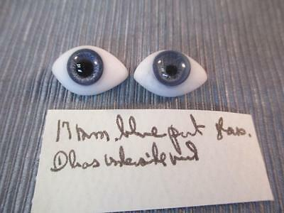 Antique French Bisque Doll Paperweight Pinch Back EYES #6