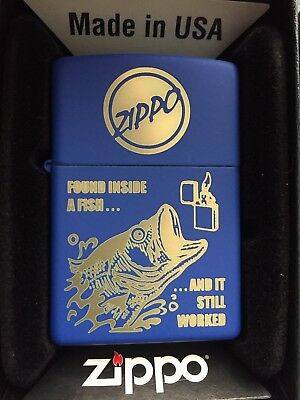 Zippo Lighter Fish Belly. Rare! Brand New.