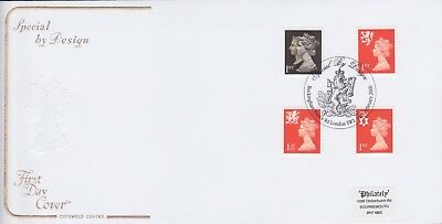 Gb Stamps First Day Cover 2000 By Design Prestige Machins From Collection