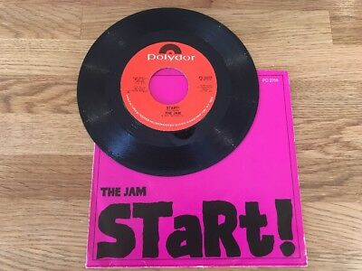 "The Jam # Usa 🇺🇸 Pressed 7"" Vinyl - Start / When You'Re Young  - Paul Weller"