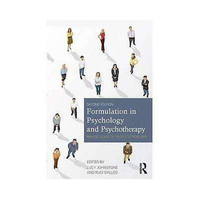 Formulation in Psychology and Psychotherapy by Lucy Johnstone (editor), Rudi ...