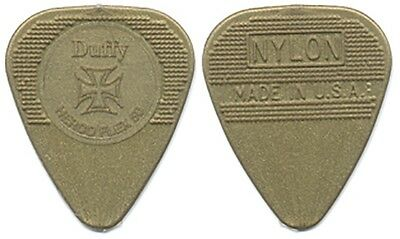 The Cult Billy Duffy authentic 2006 concert tour gold mold injected Guitar Pick