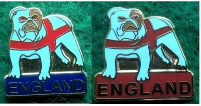 England Bulldog Pin Badge