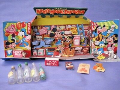 MICKEY MOUSE TOY SWEET SHOP ORIGINAL 50s 60s (peter pan toys england) disney