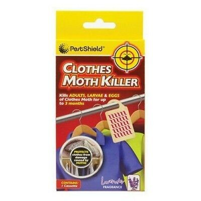 Pestshield Clothes Moth Insect Killer Hanging Cassette Lavender Scented