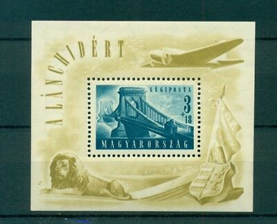 UNGARN Block 13 MNH 1948   3+18 Ft
