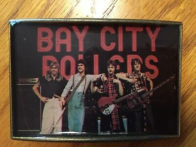 Bay City Rollers Buckle