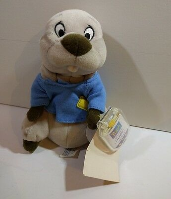 Soft gopher from winnie the pooh star bean plush