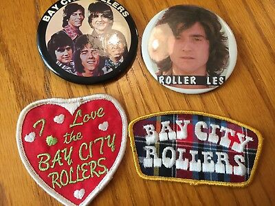 Bay City Rollers Pins & Patches