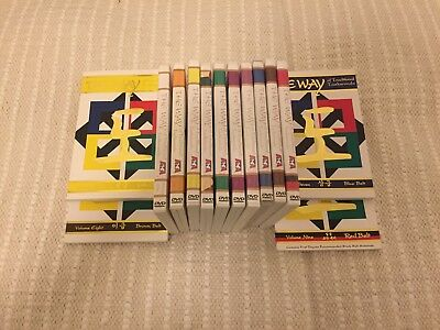 ATA The Way Taekwondo DVD (Full set) and Books