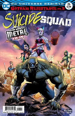 Suicide Squad #26 - 1St Print -  Dark Nights Metal Tie In  Boarded. Free Uk P+P!