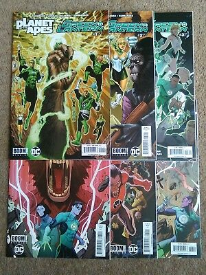 DC/ Boom! Studios Planet of the Apes/ Green Lantern #1-6.