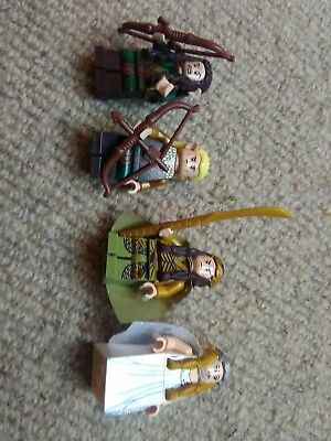 Lego lord of the rings hobbit elf figures