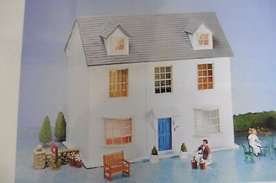 Bluebell Cottage Dolls' House Kit 1/12Th Scale Mdf Dijon Original Dolls House Co