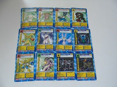 Complete set of Digimon The Movie Trading Cards Promo ~12 Cards~ 2000 Movie