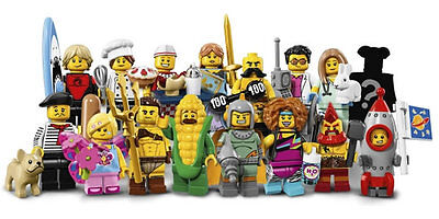 LEGO 71018 - Minifigures - Minifigurines Series 17