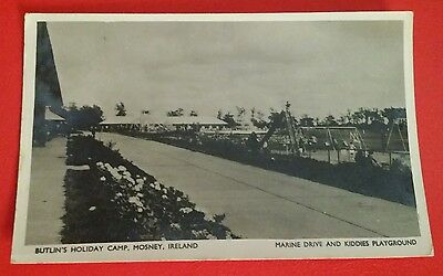 VINTAGE POSTCARD - BUTLIN'S MOSNEY IRELAND COUNTY MEATH - Early 1950's.