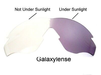 Galaxy Replacement Lenses For Oakley M 2 Frame Photochromic Transition 100% UVAB