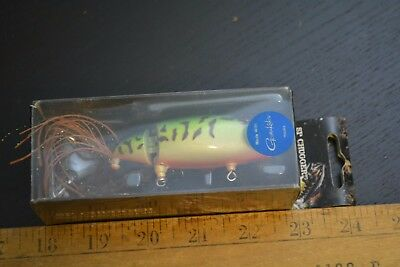 nice old moto chugg lure minnow bait great colors in the box #3