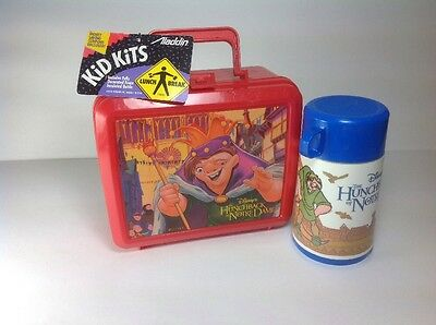 NOS Aladdin Lunch box & Thermos - Hunchback of Notre Dame NWT