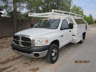 2008 Dodge Cummins Ram 3500HD 12ft. Flatbed