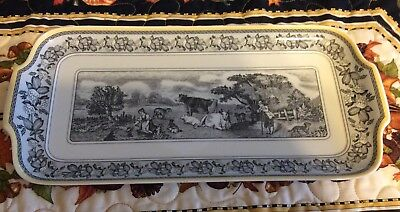 villeroy boch Audun Ferme Rectangular Serving Tray Mint Condition