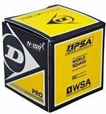 Pro Squash Ball Double Yellow Dot New