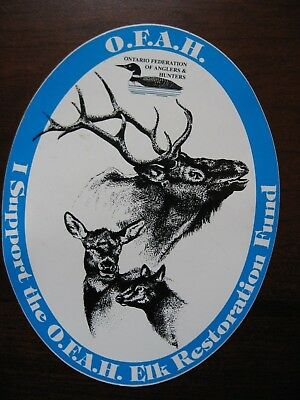 Ontario Federation Of Anglers And Hunters Sticker