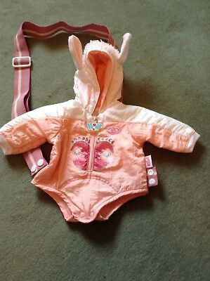 Baby Annabell Coat with carry strap
