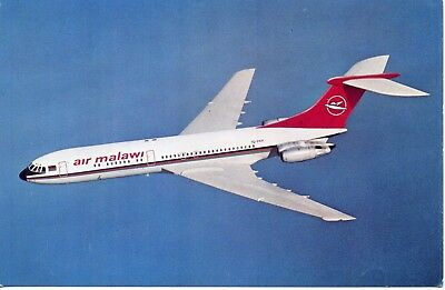 Air Malawi VC-10 Airline Issue Postcard