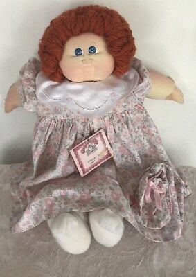 Vintage 1984 Soft Sculpture Cabbage Patch Kids Hand Signed Xavier Roberts 22""
